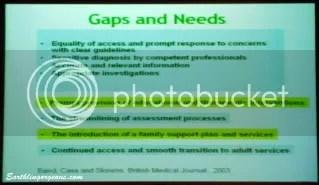 Autism Gaps and Needs