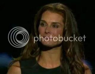 Brooke Shield at Michael Jacksons memorial service