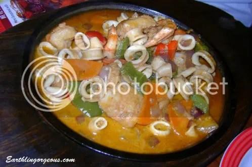Seafood Caserole