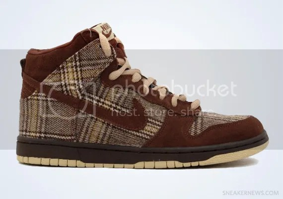 "Nike SB Dunk High ""Tweed"""