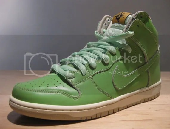 Nike SB Dunk High 'Statue of Liberty'
