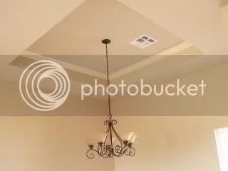 adjoining living area fixture