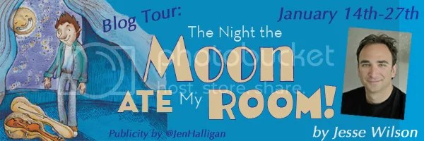 The Night the Moon Ate My Room Blog Tour