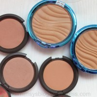BECCA Wild Honey, Sweet Pea and Physicians Formula Bronzer Swatches: Take Two