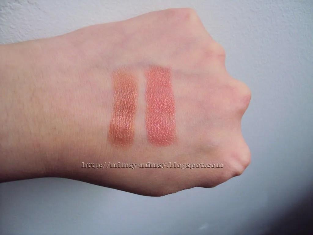 currently loving rimmel moisture renew lipstick in