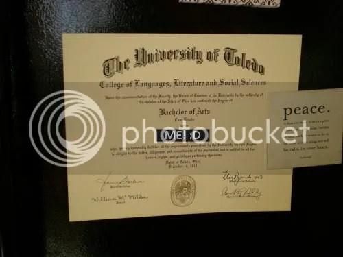 colllege diploma
