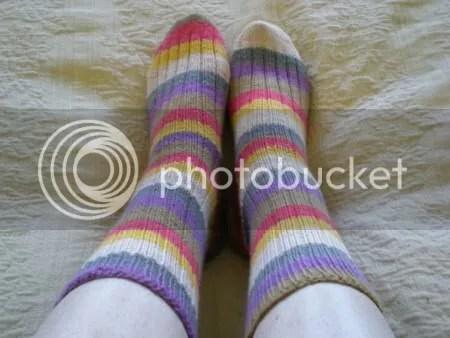 finished dr who socks