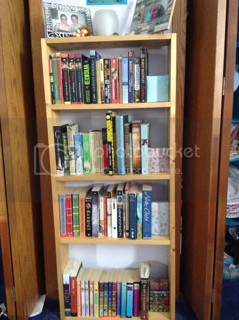 After shelf picture