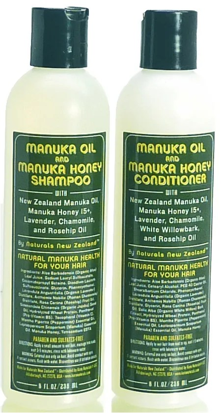 Manuka Honey and Oil Shampoo and Conditioner - Koru Naturals