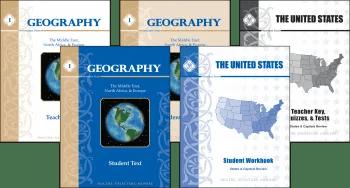 Memoria Press' Geography I set