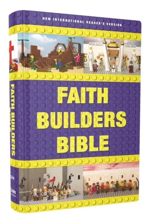 Faith Builders Bible {Zonderkidz Review}