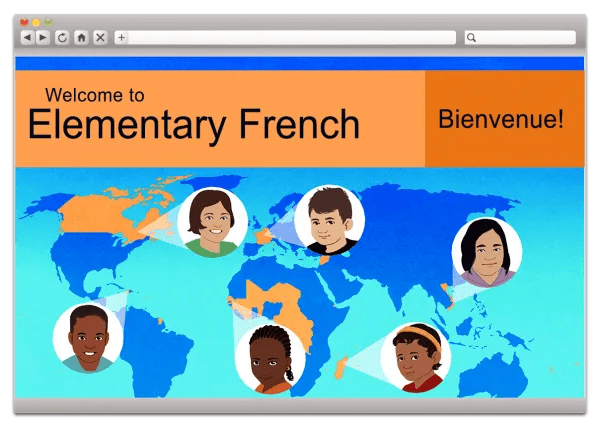 Middlebury Interactive Languages, Elementary French - Online language learning for your homeschool