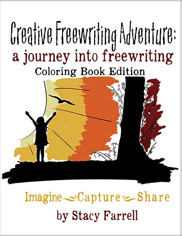 Creative Freewriting Adventure Coloring Book Edition