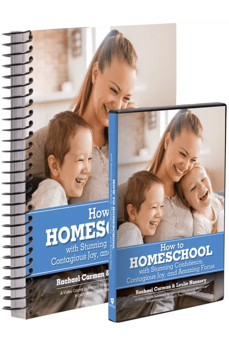 How to HOMESCHOOL with Stunning Confidence, Contagious Joy, and Amazing Focus (DVD & Coursebook)