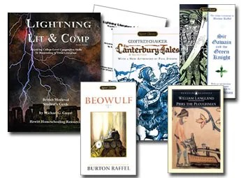 Lightning Literature and Composition Pack British Medieval