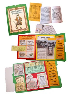 Hands-on History K-2 Lap-Pak: Benjamin Franklin