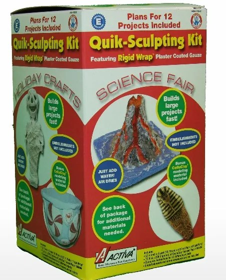Rigid Wrap and CelluClay Quik-Sculpting Kit