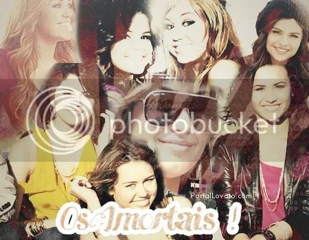 Demi,Miley e Sel