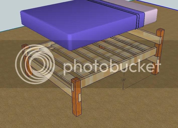 incredible wooden queen bed frame plans 11