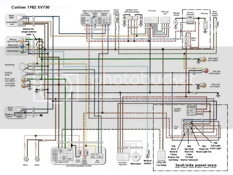 93 Yamaha Virago Wiring Diagram Wiring Diagram Networks