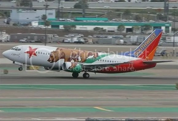 kapal terbang 10 [Gambar Menarik] Kapal Terbang Dengan Bodypaint Menarik