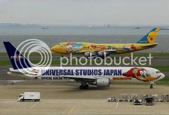 kapal terbang 4 [Gambar Menarik] Kapal Terbang Dengan Bodypaint Menarik