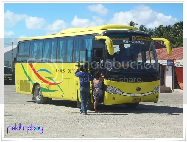 Ceres Bus to Hagnaya Port From Cebu