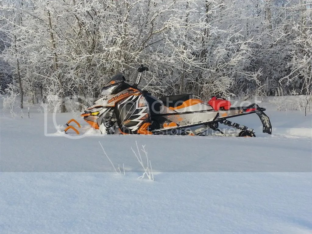 800 Summit Black Ski Sp 154 Doo 2014
