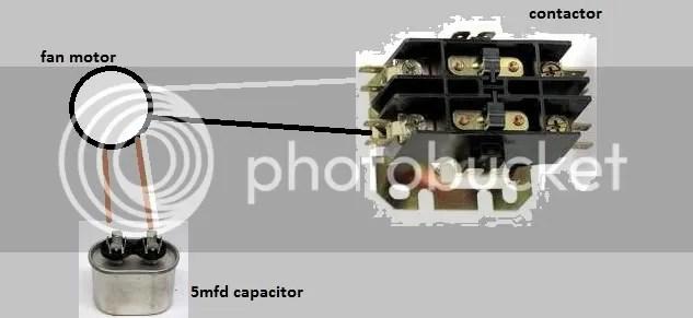 Four Wire Condensor Fan Motor