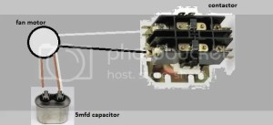 four wire condensor fan motor  DoItYourself Community Forums