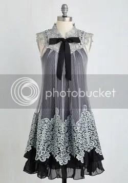 expression of elegance dress in noir (modcloth)