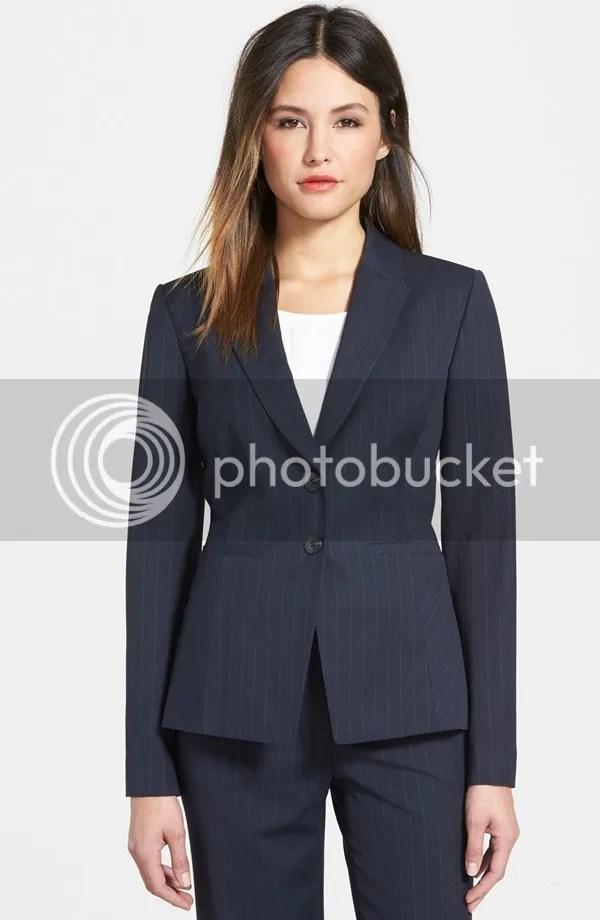 pinstripe suit jacket (classiques entier)