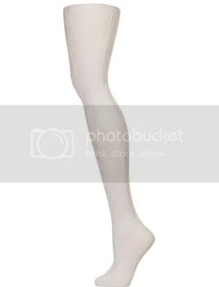 white gothic lace tights (topshop)
