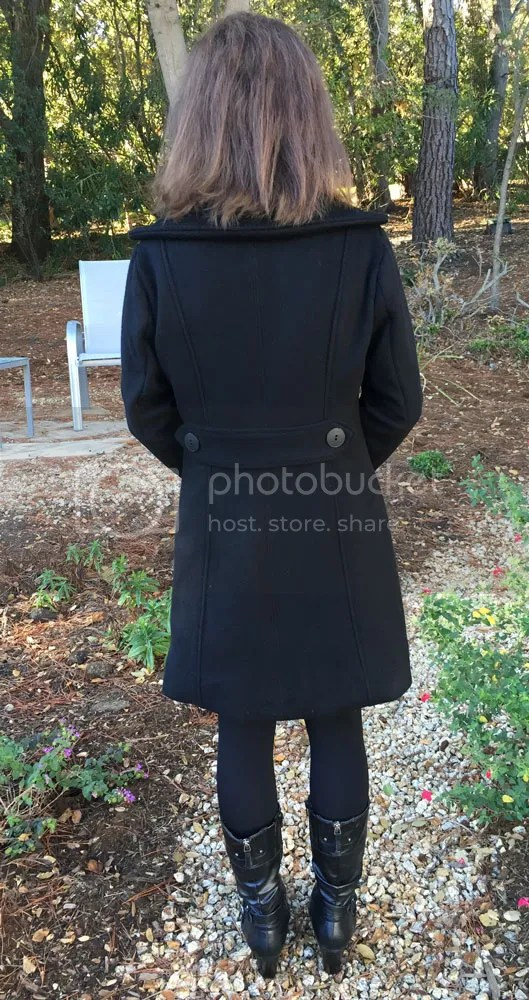 Lekala 4298 Seamed Coat Back - WithNeedleAndThread