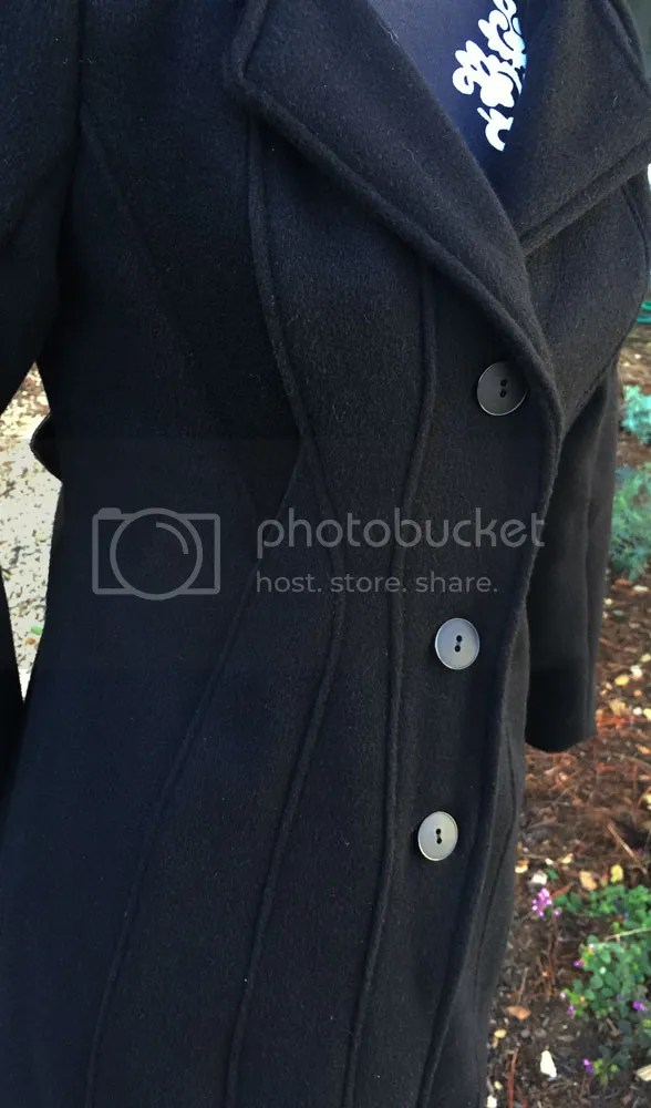 Lekala 4298 Seamed Coat Detail - WithNeedleAndThread