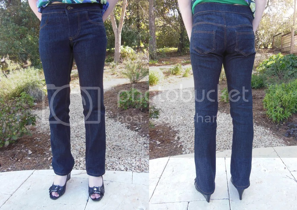 WithNeedleAndThread First Jeans
