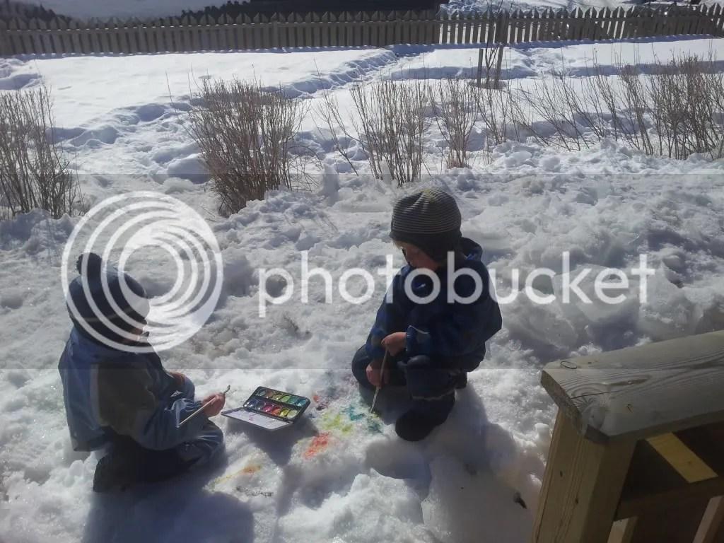 Snømaling