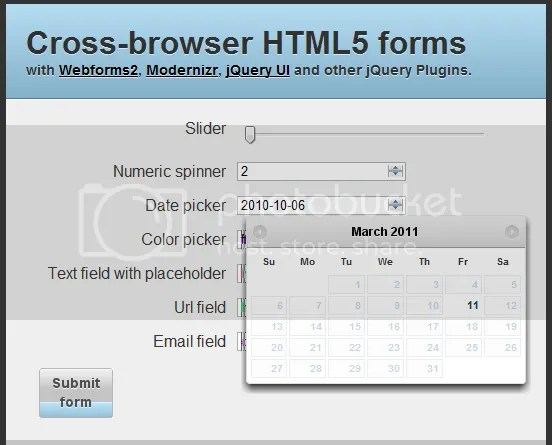 How to Create Cross-Browser HTML5 Forms