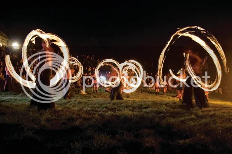 Beltane Fire Dancers