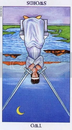 Leo - Two of Swords reversed
