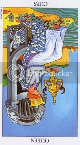 Aries - Queen of Wands reversed