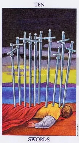 Virgo - Ten of Swords