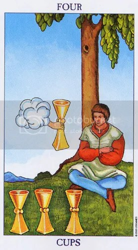 Virgo - Four of Cups