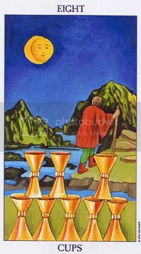 Capricorn - Eight of Cups