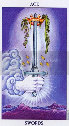 Pisces - Ace of Swords