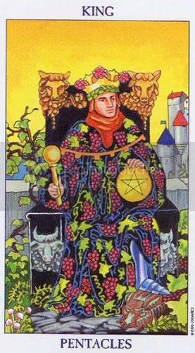 Gemini - King of Pentacles