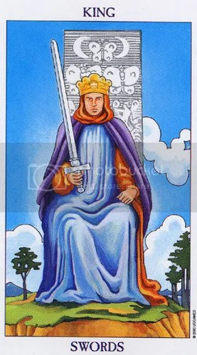 Libra - King of Swords