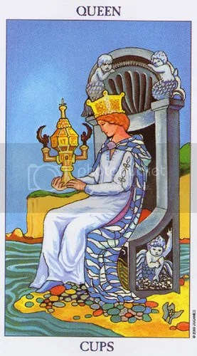 Libra - Queen of Cups
