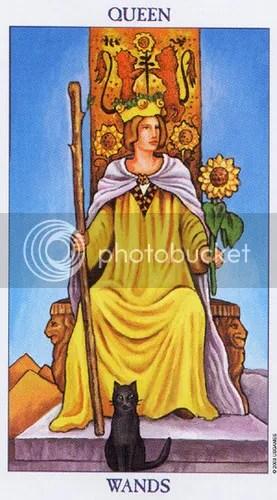 Pisces - Queen of Wands
