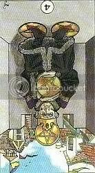 4 of Pentacles Reversed